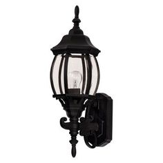 Savoy House Exterior 07073-BLK Outdoor Wall Lantern - 07073-BLK