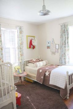 Really cute idea for a shared room