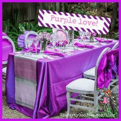 The Purple Wedding Trend Inspired By The Pantone Color Of The Year! | The Party Goddess! #wedding #purple #bride #weddingtrend #weddingplanner