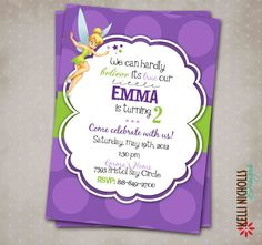 Tinkerbell Invitation Templates Free Download Free Tinkerbell