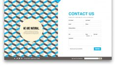 50 Blog Footer Designs from @canva
