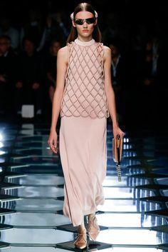 Balenciaga Spring 2015 Ready-to-Wear Fashion Show - Gabriele Regesaite (IMG)