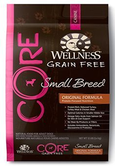 Wellness CORE Grain Free Small Breed Turkey & Chicken Natural Dry Dog Food, 12-Pound Bag - http://www.petsupplyliquidators.com/wellness-core-grain-free-small-breed-turkey-chicken-natural-dry-dog-food-12-pound-bag/