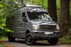 Slotting in somewhere between a roof-mounted tent and a full-on RV or camper, the Outside Van gives you just enough creature comfort…