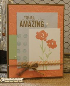 Painted Petals by catrules - Cards and Paper Crafts at Splitcoaststampers