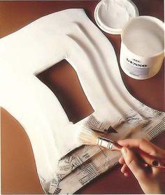 How to make a relief frame using Cardboard, Newspaper & Gesso - Tutorial