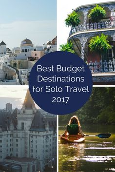 Solo Travel on a Budget - I've scoured the lists of budget destinations recommended by other sites and come up with a guide of my top world destinations for budget solo travel in 2017. Have a great trip! http://solotravelerblog.com/destinations-for-solo-travelers-on-a-budget/