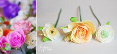 DIY paper flowers. Christine paper design 19 Flori de hârtie  O alternativă a buchetului clasic de mireasă