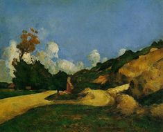 Road - Paul Cezanne