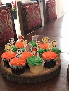 New Baby Shower Cake Safari Ideas Lion King Birthday, Jungle Theme Birthday, Safari Theme Party, Baby Birthday, Safari Cupcakes, Baby Shower Vintage, Baby Shower Cakes, Baby Shower Safari, Shower Baby