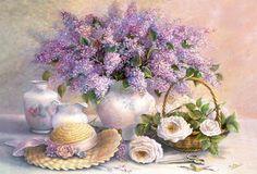 Arranjo de Flores - quebra-cabeca 1000pecas