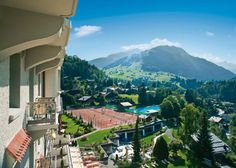 Incredible view. Gastaad Palace - in Gastaad Switzerland