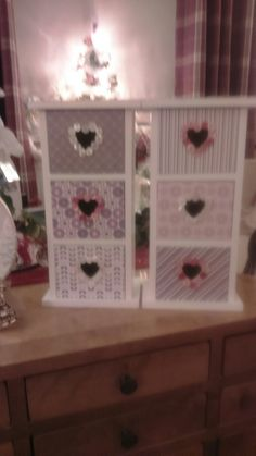 Boxes i enhanced using pretty card and buttons