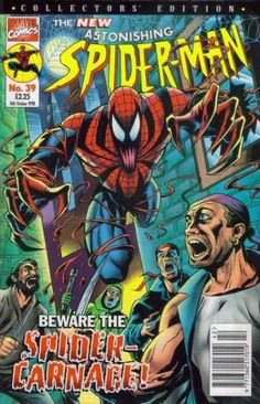 A cover gallery for the comic book Astonishing Spider-Man Ben Reilly, Spiderman, Spider Carnage, Marvel 3, Alter Ego, Hulk, Character Art, Boba Fett, Comic Covers