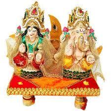 Lakshmi-Ganesha Idol