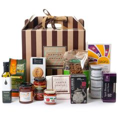 make a house a home hamper by the organic hamper company | notonthehighstreet.com  How happy would i be if i got this as a 'new home gift' wow!
