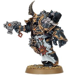 40k - Black Legion Aspiring Champion (This guy is scary)