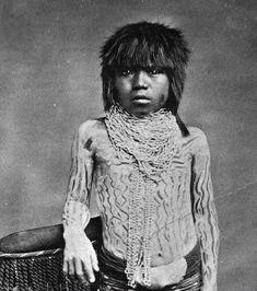 YUMA BOY , circa 1885