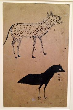 Bill Traylor artist. Philadelphia museum of Art.