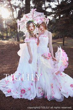 TIGLILY 2016 Spring/Summer Pandora Collection  Alice in wonderland, fairytale wedding Girls' dream!!!!