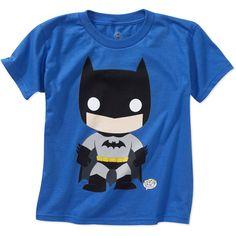 DC Comics Boys' Toddler Graphic Tee, Batman - Walmart.com