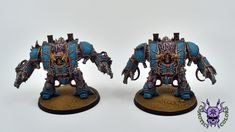 Thousand sons (Tzeentch) - Helbrute #ChaoticColors #commissionpainting #paintingcommission #painting #miniatures #paintingminiatures #wargaming #Miniaturepainting #Tabletopgames #Wargaming #Scalemodel #Miniatures #art #creative #photooftheday #hobby #paintingwarhammer #Warhammerpainting #warhammer #wh #gamesworkshop #gw #Warhammer40k #Warhammer40000 #Wh40k #40K #chaos #warhammerchaos #warhammer40k #tzeentch #thousandsons #Helbrute #Dreadnought Thousand Sons, Warhammer 40000, Tabletop Games, Gw, Lion Sculpture, Miniatures, Fantasy, Statue, Creative
