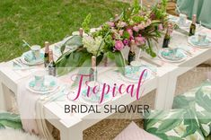 Tropical Bridal Show