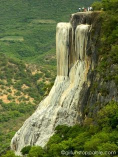 Hierve el Agua - Petrified Waterfall - in Oaxaca, Mexico