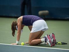 Result: Anastasija Sevastova ends Johanna Konta's US Open run in fourth round #USOpen #Tennis