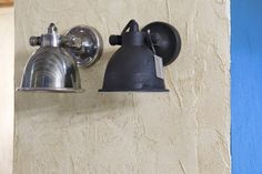 wandlampen Wandlamp MILA antique zilver en zwart