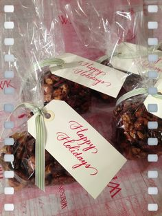 Small Gifts, Spiced Nuts | tedkennedywatson.com
