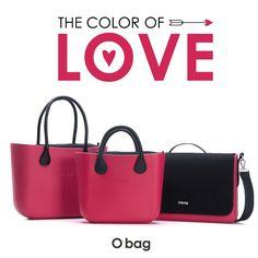 """Il rosso ciliegia diventa protagonista per un perfetto """"love look""""! Le it-bag in versioni iconica, mini e unisex vestono di strawberry per il giorno più romantico dell'anno. #Obag, #Obagmini e #Ofolder  ► #SanValentino #Valentinesday"""