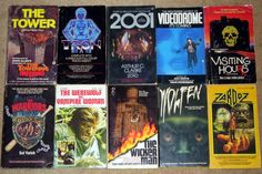 sci fi horror movie novels