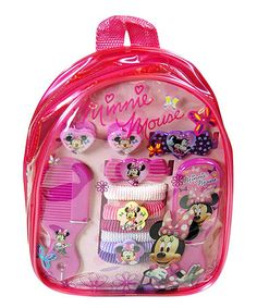 Take a look at this Minnie Bow-Tique Hair Accessory Backpack by Minnie's Bow-Tique on #zulily today!