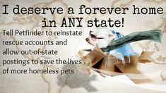 Petition · Petfinder, Nestle Purina Pet Care Company: Allow out-of-state adoptable pet postings on Petfinder · Change.org