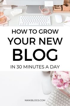 Create a blogging to do list with this guide to 30 minute tasks you can accomplish daily! Routines are an incredibly powerful way to bring growth to your new blog or business website, and with ideas that take 30 minutes or less to complete from start to finish, you'll feel more productive every day. Get growing and build your traffic now! #blogging #bloggingtips #bloggingforbeginners #bloggingideas #bloggingtodolist