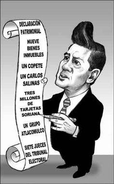 Tal vez explica porqué @EPN no presento completa su declaración patrimonial ¬¬  La Jornada: Cartones