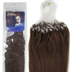 Straight Remy Human Hair Extensions 100s /Pake 6 Length 9 Colors for Choose Grade AAA Beauty Women's Accecories in Fashion (20inch 50g for 100s, #04 medium brown) by lilu. $33.00