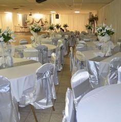 43 Amazing White And Silver Wedding Images Wedding Reception