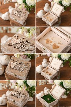 Engagement & Wedding Brilliant Wedding Ring Holder Ring Bearer Wedding Ceremony Ring Gift Idea For The Couple Home & Garden