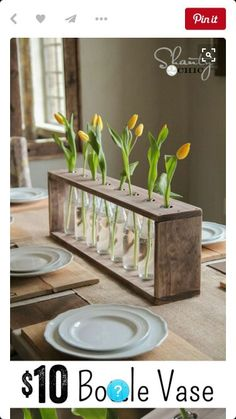 How can I decorate my home on a budget? Cheap and Easy DIY Home Decor Projects! These DIY projects are great for beginners! Diy Home Decor Projects, Diy Wood Projects, Decor Ideas, Best Diy Projects, Diy Decorations For Home, Vase Ideas, Simple Projects, Apartment Projects, Diy Home Decor Easy