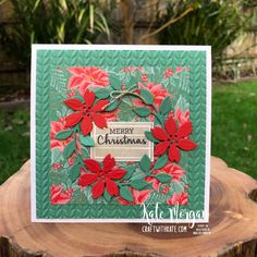 Christmas Cards 2018, My First Christmas, Stampin Up Christmas, Holiday Cards, Vintage Christmas, Christmas Holiday, Christmas Ideas, Handmade Birthday Cards, Handmade Cards