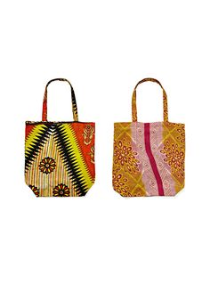 What makes these exotic prints even lovelier? The bags are made from recycled saris and provide jobs for women in rural India.