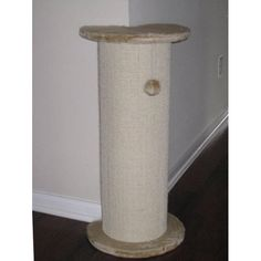 GPC-F17 Cat Scratching Post  #$74.99 and free shipping!! Cats need a scratching post that will allow them to get a full stretch. This scratching post can fit into any angle wall to save space and conveniently place it any where in the house.    * 29.25 inch height allows cats to stretch fully and tone muscles  * Base board size: 13.75 Dia  * Scratching board covered by natural sisal fabric. I like how this tucks in corner and provides full stretch and uses sisal fabric!