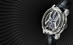 Tourbillon Mars - Meteoris - Louis Moinet | The Tourbillon Mars dial features a hand-crafted fragment of the Jiddat al Harasis 479 meteorite, an authentic piece of the planet Mars that fell to Earth. The Jiddat al Harasis 479 is probably more than 180 million years old. Because of their rarity, Martian meteorites can sell for as much as US$1,000 per gram – more than 15 times the current price of gold.