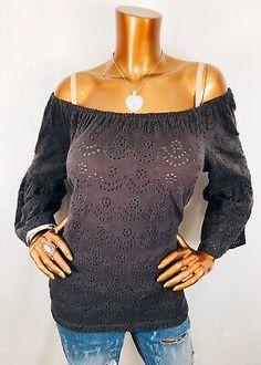 $59 NWT INC Womens V-Neck Circle Medallion Layered Sleeveless Top Size L Large