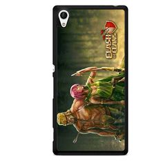 Clash Of Clans Barbarian And Archer TATUM-2674 Sony Phonecase Cover For Xperia Z1, Xperia Z2, Xperia Z3, Xperia Z4, Xperia Z5