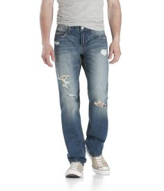 Bowery Slim Straight Destroyed Medium Wash Jeans at Aeropostale, it was clearance from $44.50 down to $12.99, C'mon men lets get those jeans before they are gone..!! Check out aeropostale.com in Men's clearance sections, or check out your local aeropostale (locations may vary)