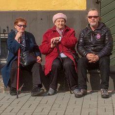 Geting to know local people #riga #latvia #people