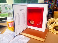 @Home and Family  #DIYBookSafe by @Ken Feldman Vega Wingard  #HallmarkChannel